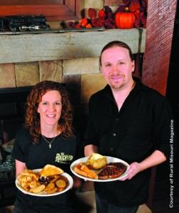 The Railyard Steakhouse owners, Patrick and Lorie Brownsberger