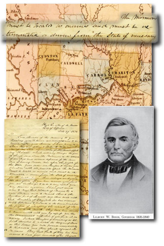 Missouri Mormon War | The Siege of Dewitt near Brunswick, MO